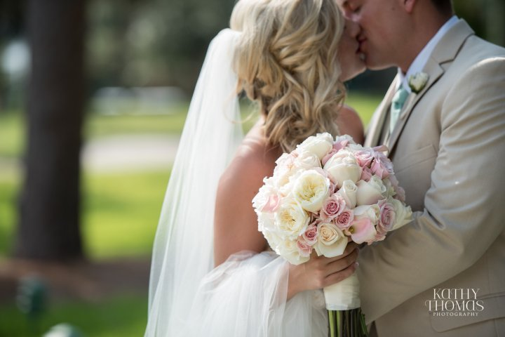 Cassie and Justin's Romantic Mission InnWedding