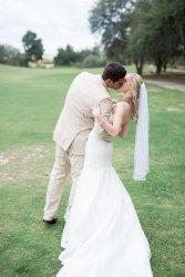 bride and groom romantic blush and kaki rustic elegant wedding floral